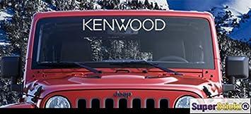 Kenwood Sponsor Aufkleber Ca 50 Cm Tuning Racing Rennsport