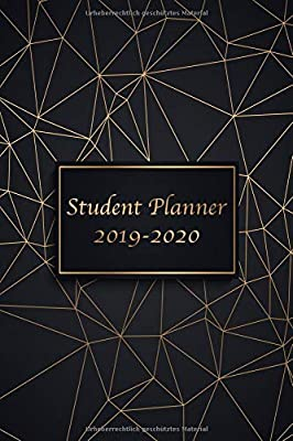 Student Planner 2019 - 2020: Planners and Organizers for ...