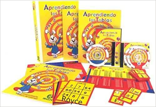 Aprendiendo Las Tablas (Estuche) . P. Usd: IBALPE: Amazon ...