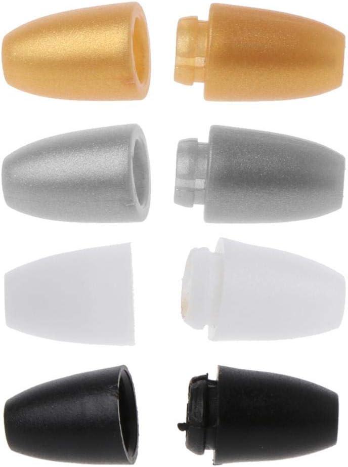 Accessoires de Bricolage Nouveau-n/é Unisexe 2,4 cm Noir Manyo 10 paires Fermoirs pour Colliers B/éb/é Dentition