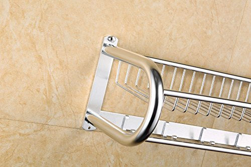 MDRW-Towel Rack Space Aluminum Bathroom Accessories Light Treatment Bathroom Hook