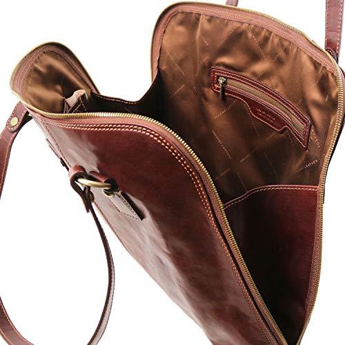 Borsa Tuscany Ravenna Leather Esclusiva DonnaTl141795marroneMiele Business Per rthxsQdC