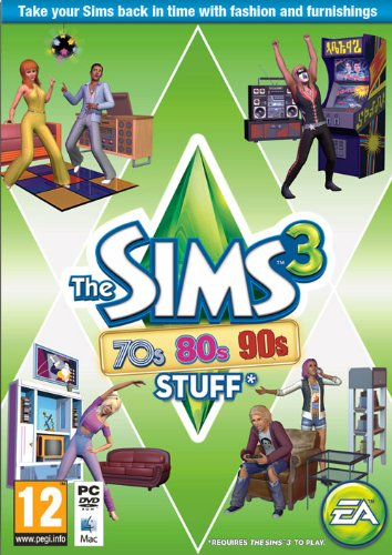 The Sims 3 70s, 80s, and 90s Stuff