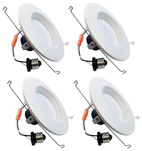 Hongville HV-LED-DL6-3K LED Gimbal Downlight Trim, Energy...