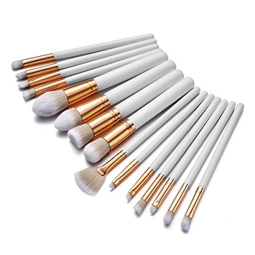 Makeup Brushes Set,Digirlsor 15 Pieces Makeup Brush Set Synt