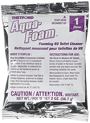 Thetford 96031 Aqua Foam RV Toilet Cleaner