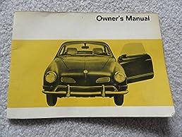 1970 vw volkswagen karmann ghia owners manual coupe and convertible rh amazon com vw karmann ghia workshop manual vw karmann ghia workshop manual pdf