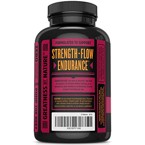 Nitric-Oxide-Supplement-with-L-Arginine-Citrulline-Malate-AAKG-and-Beet-Root-Powerful-NO-Booster-and-Muscle-Builder-for-Strength-Blood-Flow-and-Endurance-120-Veggie-Capsules