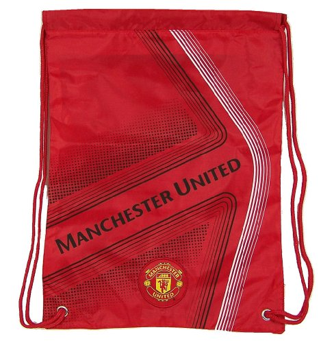 Backpack Embroidered Cinch (Manchester United Official SOCCER One Size Cinch Backpack)