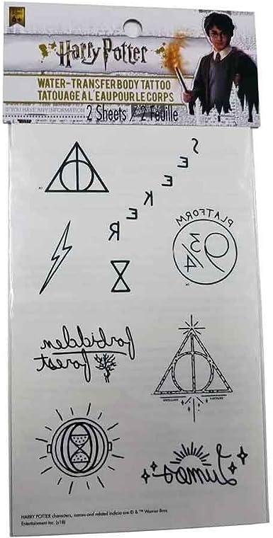 Harry Potter school Gryffindor slytherin Hufflepuff Temporary Tattoos NEW UNUSED