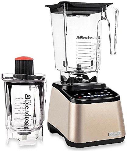 Blendtec 9001309 Designer Series Blender with Wildside and Twister Jar, Champagne by Blendtec