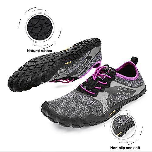 ALEADER hiitave Unisex Minimalist Trail Barefoot Runners Cross Trainers Hiking Shoes 6