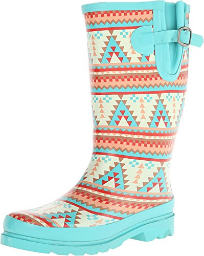 M&F Western Women's Dakota Turquoise/Cream Boot 7 B