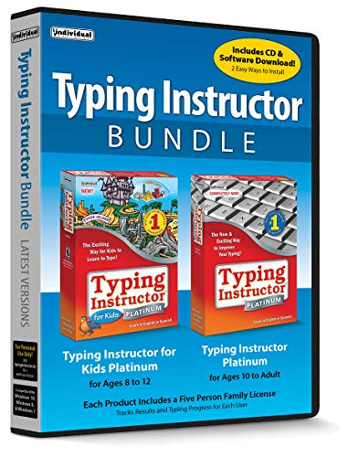 Typing Instructor Bundle (Learn To Type Software)