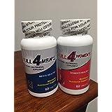 Set Full 4 Mens & Full 4 womens Multivitamin / Multimineral Supplement Maximun Nutritional Support (