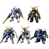 FW GUNDAM CONVERGE SELECTION [REAL TYPE COLOR] 10 pieces Candy Toys & gum (Mobile Suit Gundam)