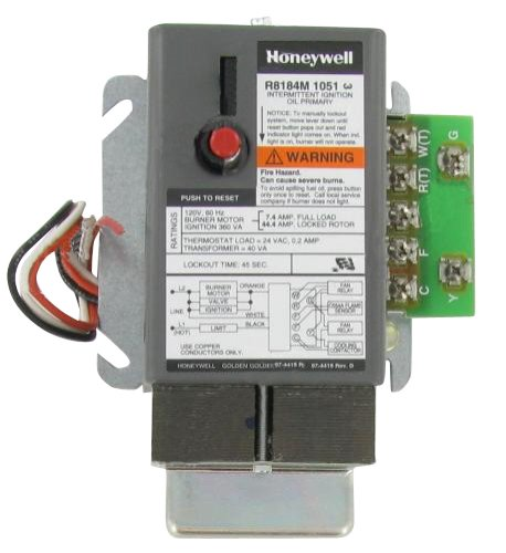 Honeywell R8184M1051 Relay Oil Burner Control 45 Sec by Honeywell (Image #1)