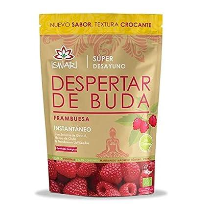 Iswari Despertar de Buda sabor Frambuesa 360g. (Ecológico, vegano y sin gluten)