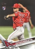 2017 Update Series #US133 Keynan Middleton Los Angeles Angels Baseball Rookie Card