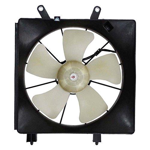 New Radiator Fan For 2001-2005 Honda Civic 1.7L DX LX EX SI W/Cooling Fan Motor 19000-PLF-513 19000PLF513