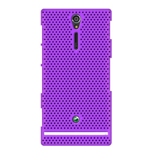 JUJEO 2108046335 Hard Cover for Sony Xperia S Air  - Retail Packaging - Purple