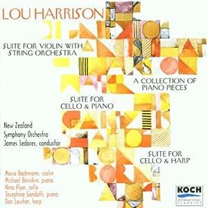 Harrison: Suite for Violin & String Orchestra / Piano Pieces / Suite for Cello & Piano / Suite for Cello & Harp