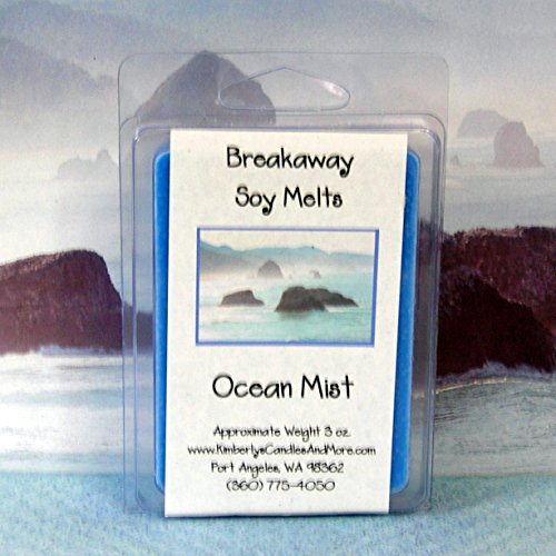 Ocean Mist Breakaway Clamshell Soy Wax Tart Melts