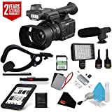 Panasonic AG-AC30 Full HD Camcorder with Touch Panel LCD Viewscreen AG-AC30PJ + Sandisk 32gb ULTRA SDHC Memory Card + 2 Year Extended Warranty Kit
