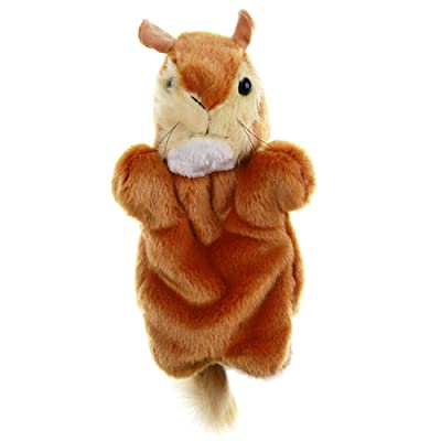 lEIsr00y Lovely Mouse Animal Doll Plush Sleeve Hand Puppet Storytelling Toy Kids Gift - Brown: Kitchen & Dining [5Bkhe0205878]