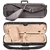 Bobelock 1002 Oblong 3/4 Violin Case with Tan Velour Interior