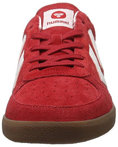 Unisex Adulto Ribbon Ginnastica da Hummel Rosso Red Victory Basse Scarpe HqxRHwXSY