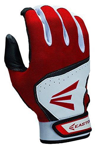 イーストンユースhs7バッティング手袋 B00LCXIQJQ Medium|ホワイト/レッド ホワイト/レッド Medium