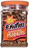 P.Nuttles, Butter Toffee Covered Peanuts, 44oz Jar (Pack of 3)