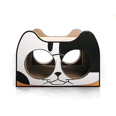GLMAMK Suministros para Gatos, artículos de Mascotas para Nieve Plegable, Almohadillas para raspar de