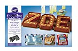 wilton baking set - Wilton 2105-0801 Countless Celebrations Letters & Numbers Non-Stick Bakeware Set