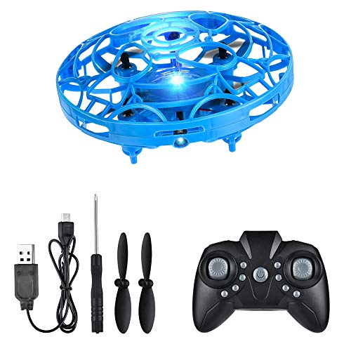 FlyNova Mini Drone, Hand Drone Flying Toys Drones for kids, USB Charging RGB Lights Interactive Toys Gifts for Boys…