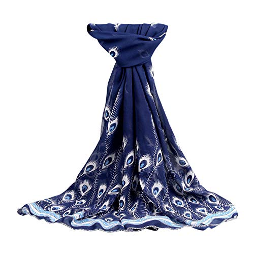 Fashion Women's Winter Scarf LightweightSoft Chiffon Printed Shawl