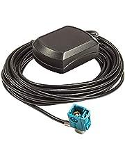 tomzz Audio 1100-003 gps antenne Fakra stekker binnenmagneet 5m kabel geschikt voor Audi Mercedes vw Blaupunkt Zenec mfd2 mfd3 rns300 rns310 rns510