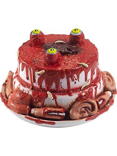 Latex Gory Zombie Gourmet Cake Prop -