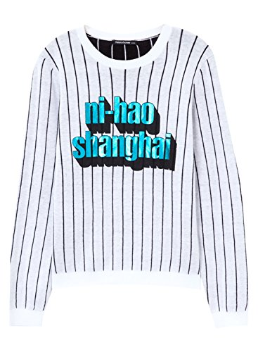 meters-bonwe-womens-fashion-letter-printed-striped-pullover-sweater-white-s