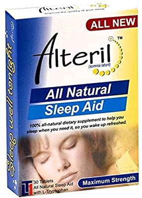 Alteril All Natural Sleep Aid 30 Tablets