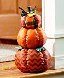 The Lakeside Collection Stacked Outdoor Pumpkin