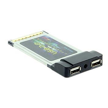 COOLGEAR USB 2.0 Adaptador de tarjeta PCMCIA de alta ...