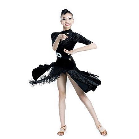 NI. Ropa Sexy Dance Profesional de Las Muchachas Falda de ensayo ...