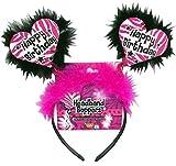 Best Forum Novelties Headbands - Forum Novelties Happy Birthday Zebra Hearts Boppers Headb Review