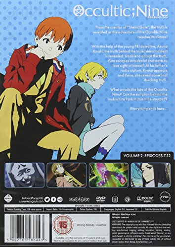 Occultic Nine Volume 2 (Episodes 7-12) [DVD]