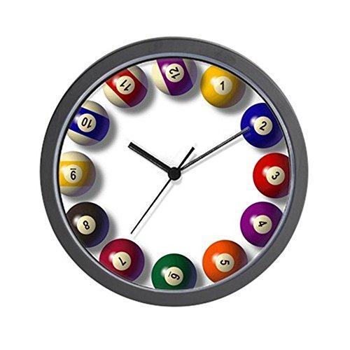 CafePress - Large Billiard Clock - Unique Decorative 10