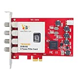 TBS 6909 Professional DVB-S2 8 (Octo) Tuner HD Satellite PCIe Card for Linux OS