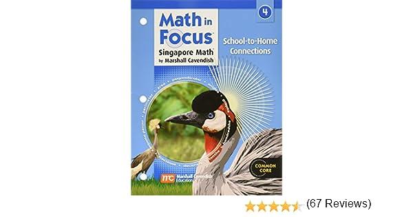 Amazon.com: Math in Focus: Singapore Math: School-to-Home ...
