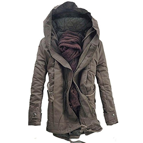 Party DeepKhaki Thin Jacket Cotton Travel Loose Attend Personality Party Autumn And Self Men cultivation Winter ManRiya Warm Jacket Birthday qHq6gU